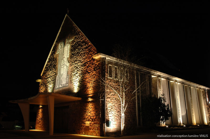 Eclairage architectural exterieur led images for Led eclairage exterieur