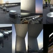 ADNOC HQ TOWER / ABU DHABI / TECTRONICS / Projecteur CL-270W / CL-180W Concept Light / UAE