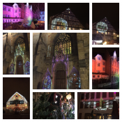 Ville de Colmar 2016 Noel CL-BOXVideoprojection Projecteur CL-RGBW et CL-PROFILE