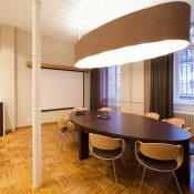 Salle de réunion Suspension LED sur mesure by CONCEPT LIGHT